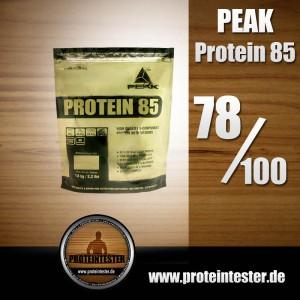 Peak Protein 85 im Test