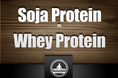Whey Protein vs. Soja Protein