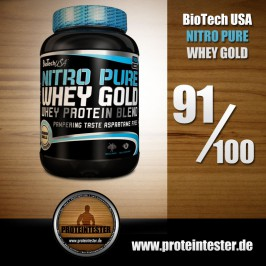 BioTech USA Nitro Whey Gold im Test
